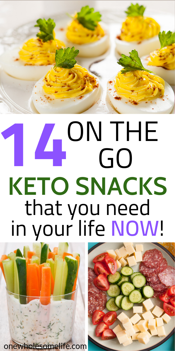 14 Super Simple Keto Snacks to Help You Lose Weight