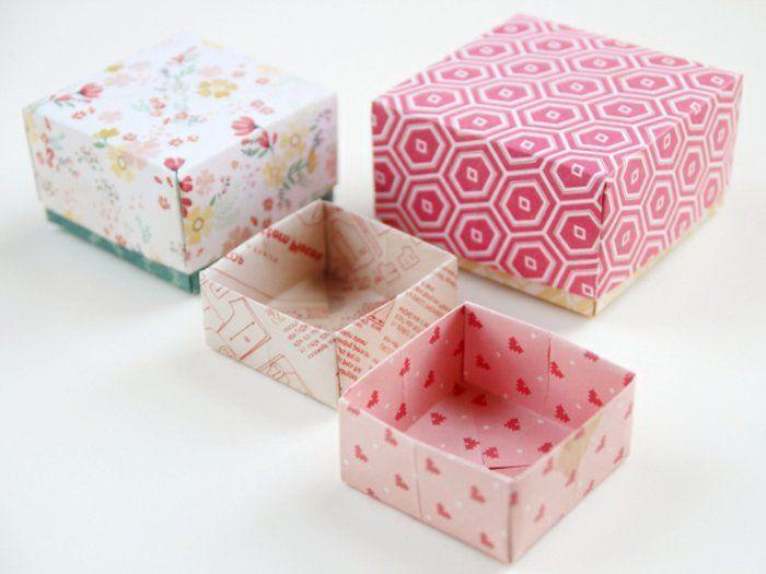 ▷1001+ idées comment faire une boîte en papier - comment construire sa maison soi meme