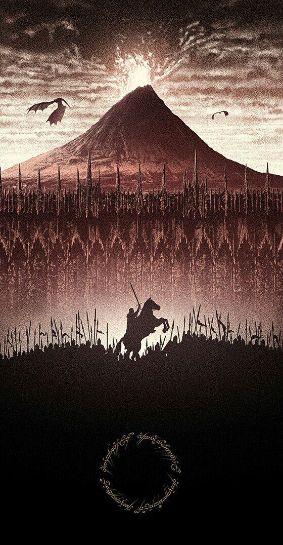 LoTR Tolkien Papering Walls Pinterest LOTR