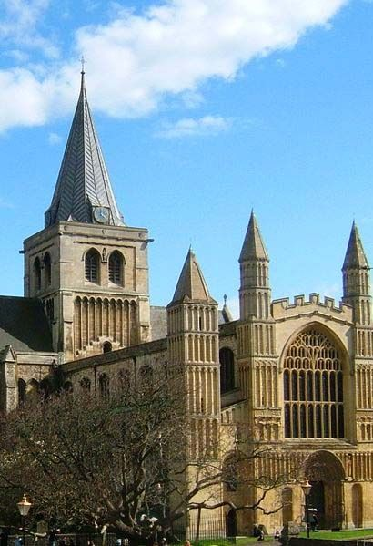 Rochester Cathedral, Kent, England.