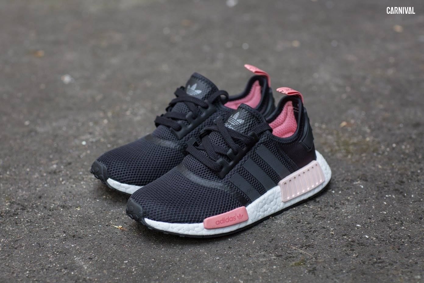 Adidas Originals NMD R1 (Women) City Pack - Black, Pink อีกหนึ่งแพ็