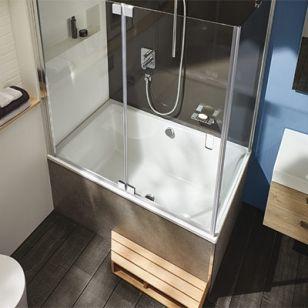 baignoire douche jacob delafon neo espace aubade salle de bain pinterest bath and decoration. Black Bedroom Furniture Sets. Home Design Ideas