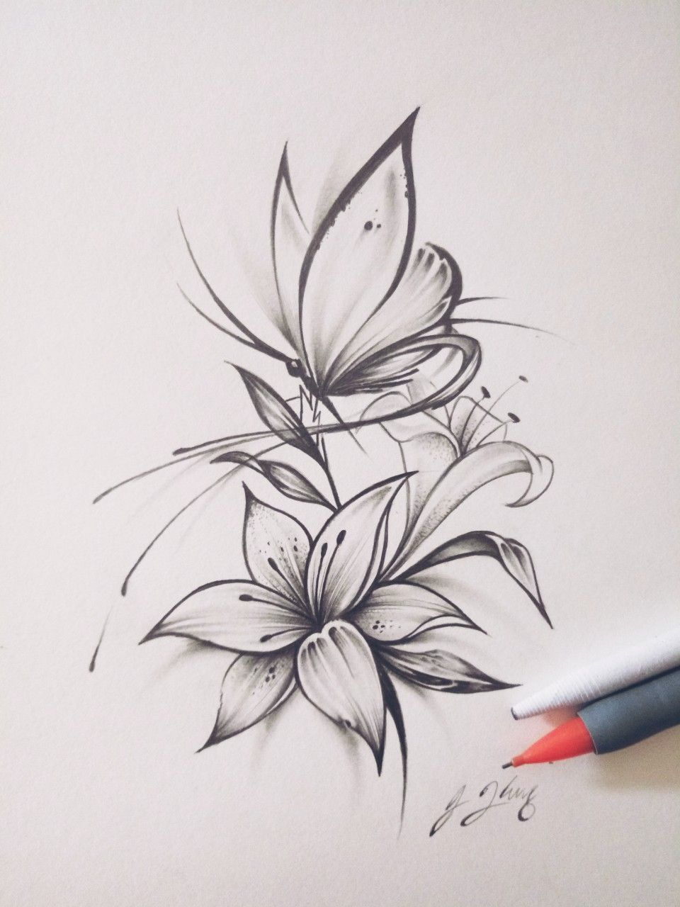 Butterfly Flower Tattoo Design 560627853614061391 Vintage Flower Tattoo Butterfly Tattoo Designs Flower Tattoo