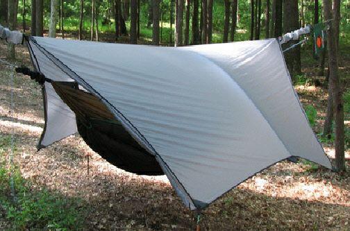 2QZQhammockhanger.com Pole Pocket Mod.... add space inside your tarp & 2QZQhammockhanger.com Pole Pocket Mod.... add space inside your ...