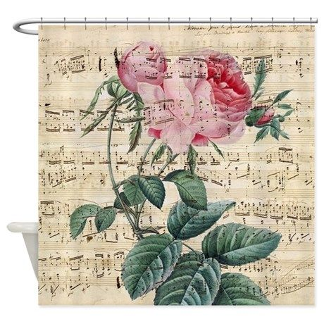 Roses Song Shower Curtain