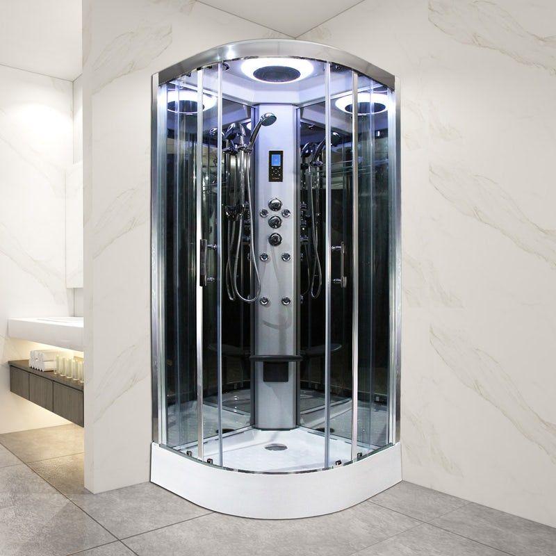 Insignia Premium Quadrant Shower Cabin With Clear Glass 1000 X