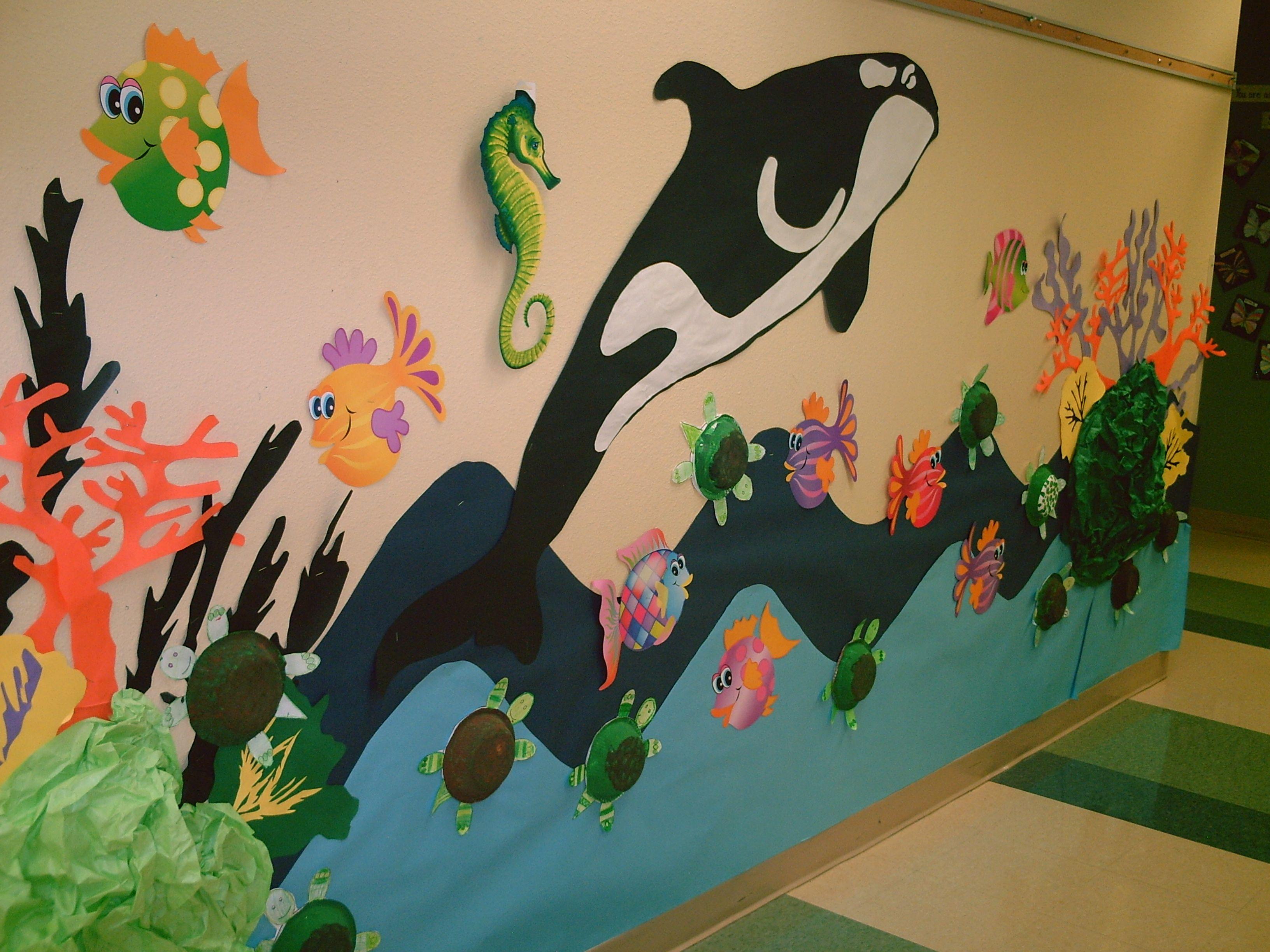 Under the sea theme unit | Ocean theme classroom, Under ...