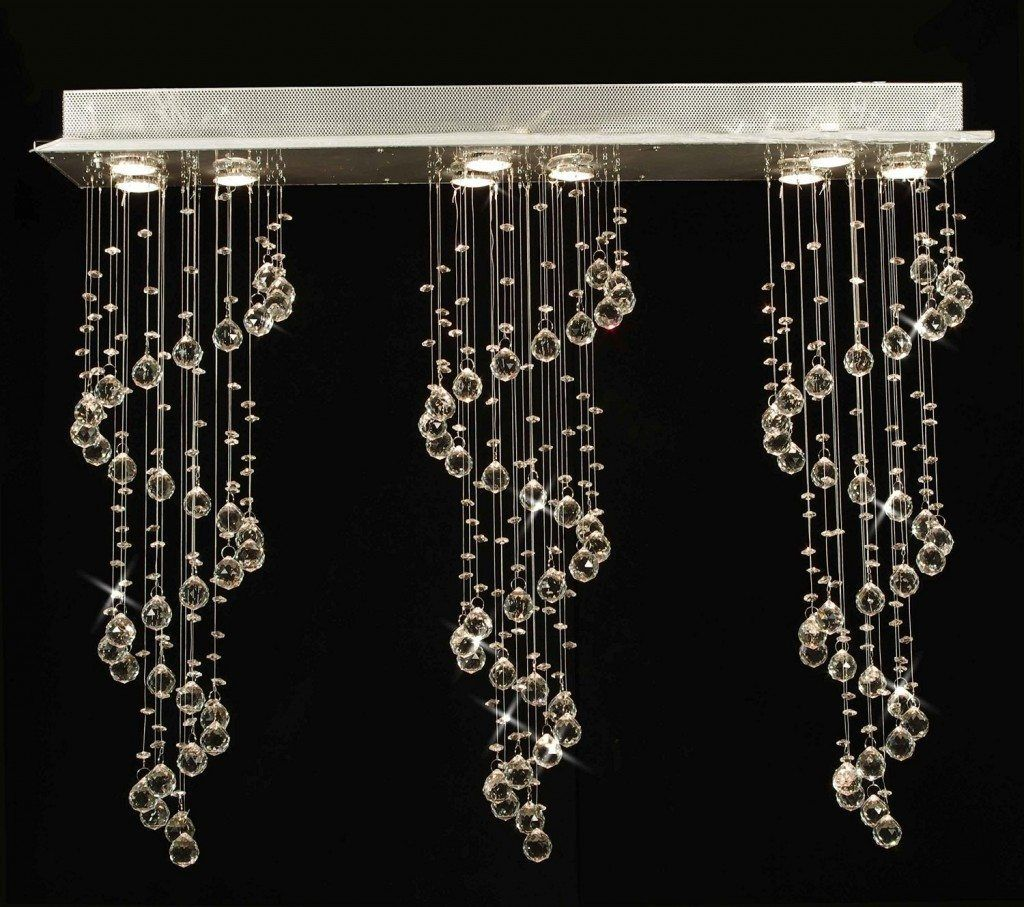 Modern linear crystal chandelier lights pinterest rain drops contemporary modern linear crystal chandelier arubaitofo Image collections