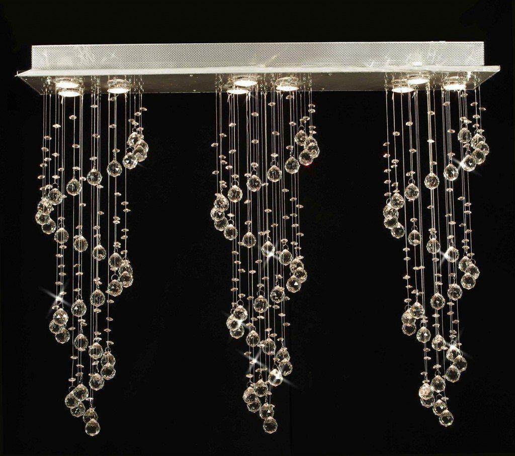 Modern linear crystal chandelier 33000 rain drop design nine modern linear crystal chandelier 33000 rain drop design nine lights chandelier top aloadofball Choice Image