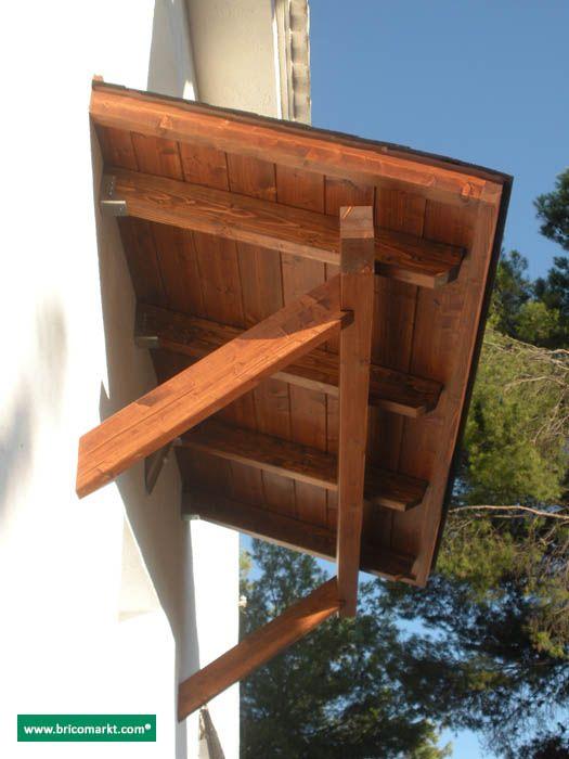 marquesinas de madera buscar con google balkon pinterest vordach t ren en haust r. Black Bedroom Furniture Sets. Home Design Ideas