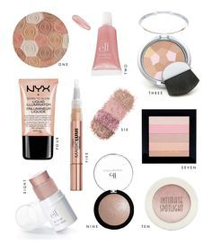 beauty on a budget 10 best highlighters  best drug store