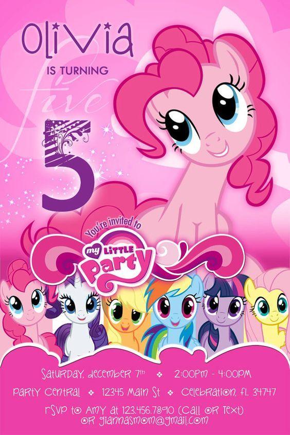 Pin About Fiesta De Mi Pequeño Pony Cumpleaños De Ponis Y