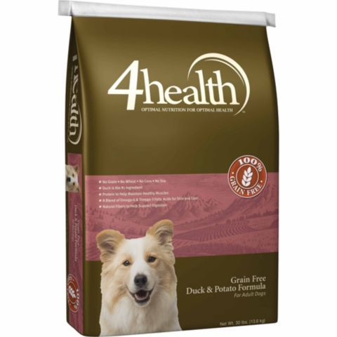 4health Grain Free Duck Potato Dog Food 30 Lb Tractor Supply