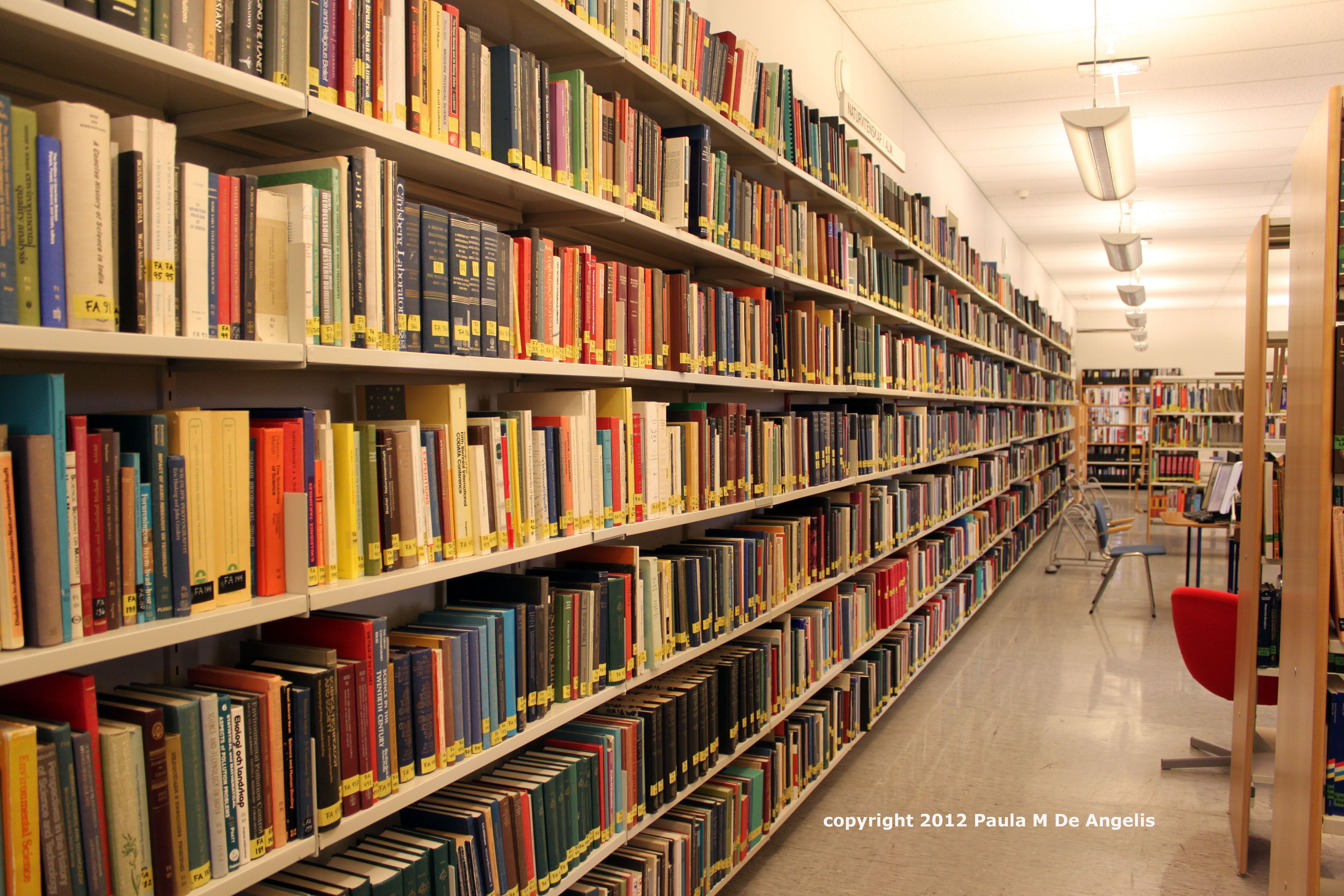 Shelves Of Library Books Importance Of Library Library Books Imperial College London
