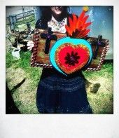 Photo of MElIssa BRownlow art