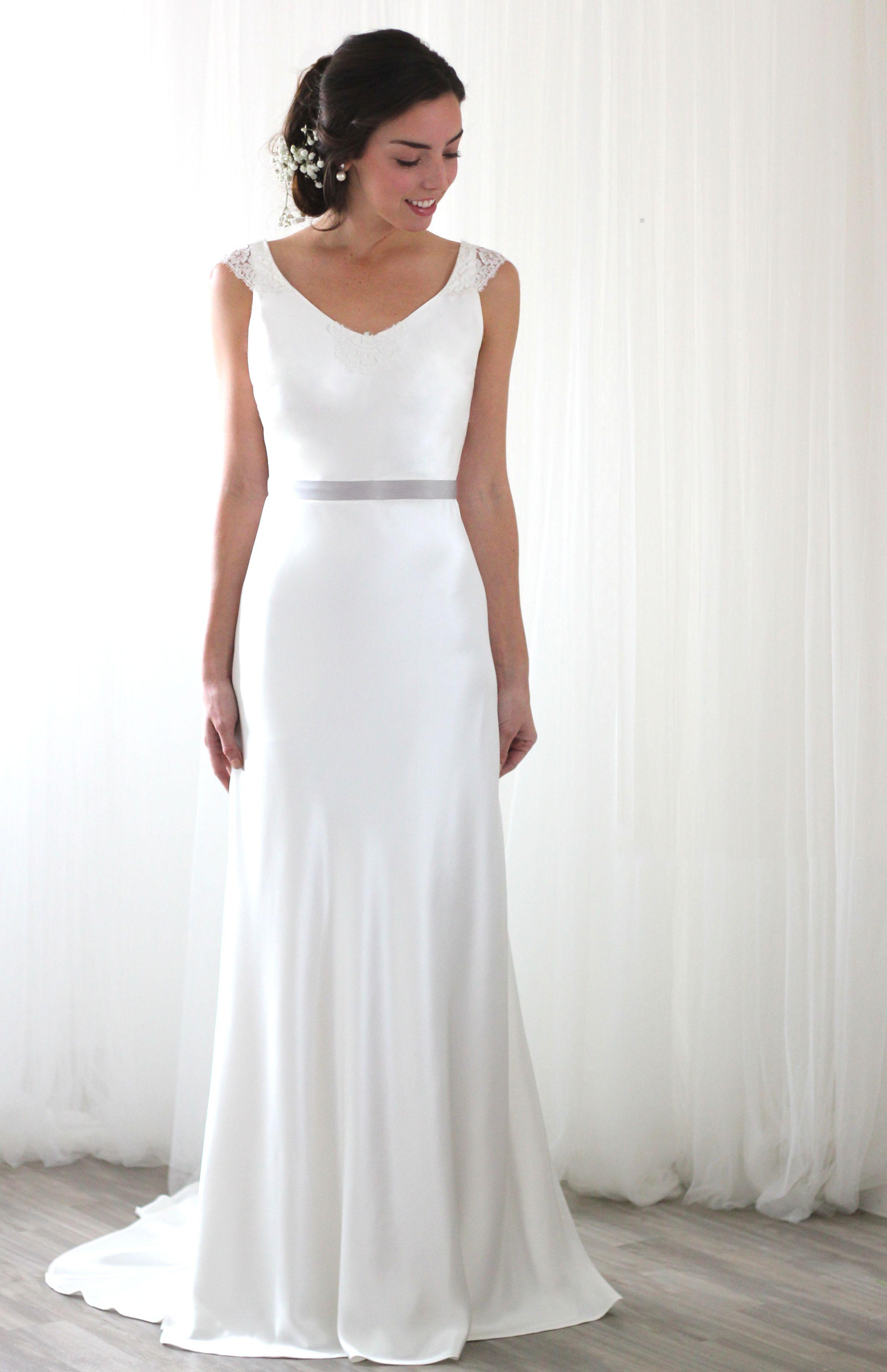 1b53d54ee56 Madeline Silk bias cut wedding dress Inspired by all things pretty ...