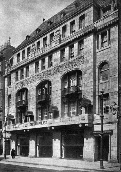 Behrenstraße 48.. Café und Tanzpalast Kerkau.. aus BAW