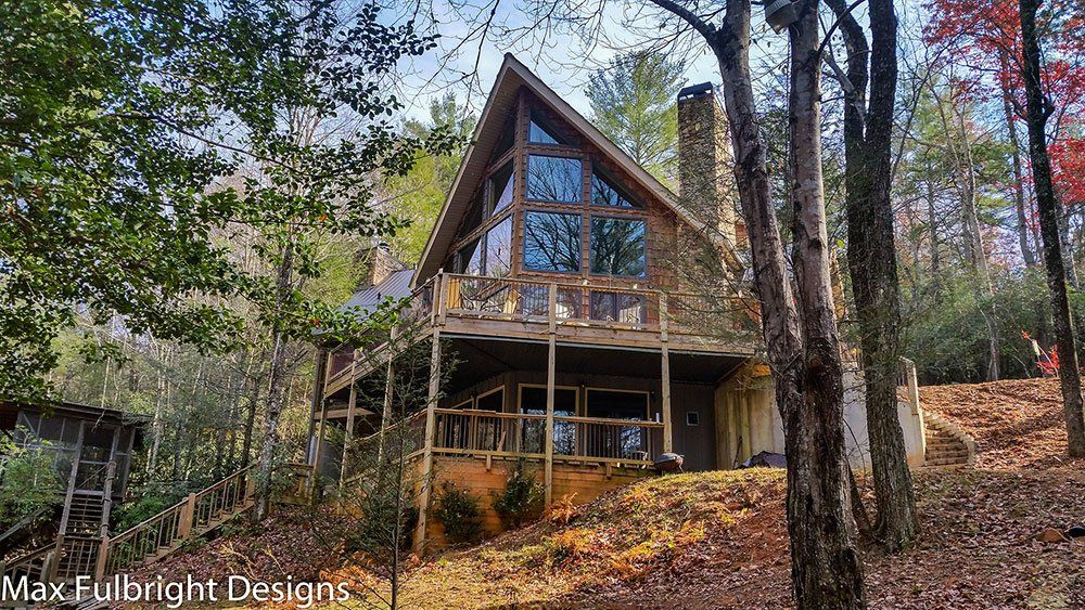 Our Boulder Mountain Cabin house plan is