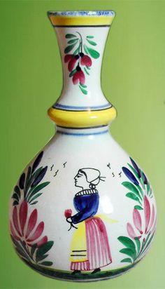 bretagne vase ancien henriot