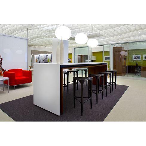 Image result for long communal office desks | Bar height ...