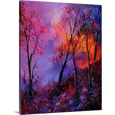 "GreatBigCanvas """"Magic Trees""""by Pol Ledent Canvas Wall Art, Multi-Color"