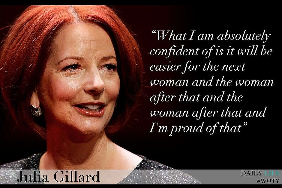 Julia Stiles Quotes Image Quotes At Relatably Com: Julia Gillard. Australia's First Female Prime Minister