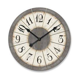 Ashton Sutton Analog Round Indoor Wall Clock Cx1614