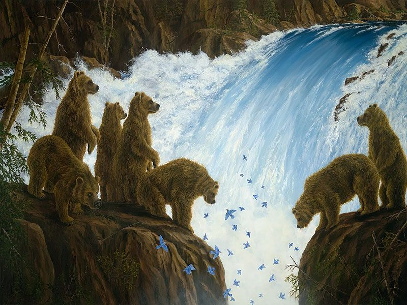 Pin By Katherine Ann On Animal Art Bear Art Fine Art