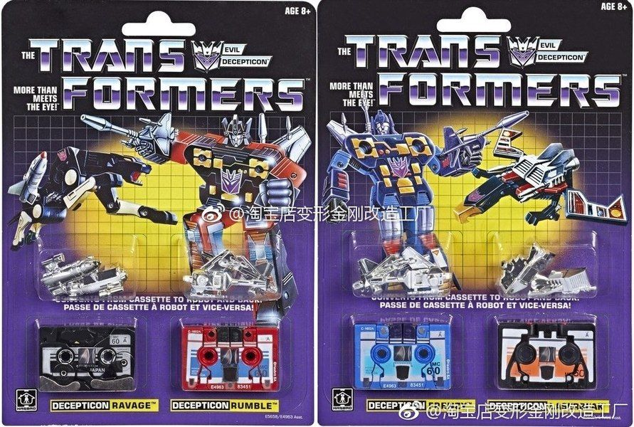 Transformers SIEGE War for Cybertron Laserbeak /& Ravage Action Figure Toys MISB!
