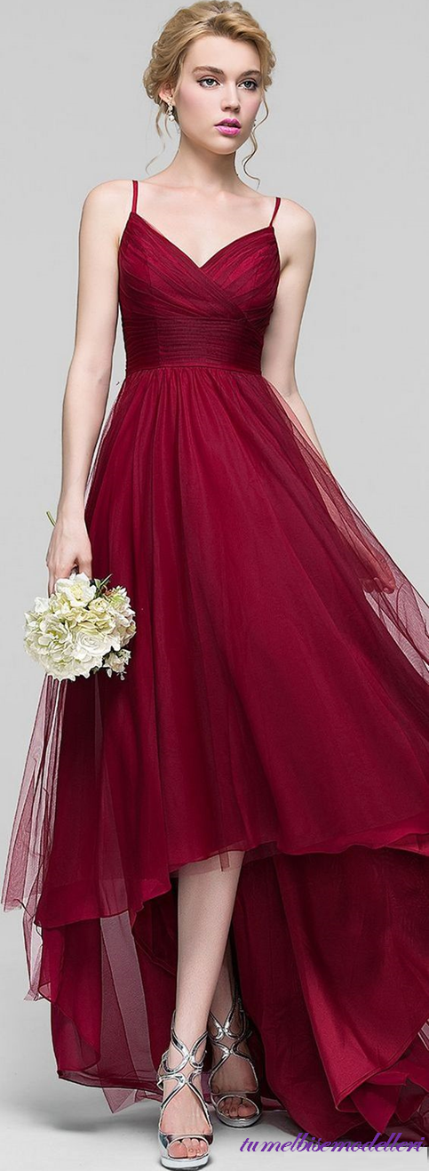 Kirmizi Elbise Modelleri Zarafetin Rengi Kucuk Kizlardan Genc Kadinlara Ruhu Genc Olgun Hanimlara Kadar H Elbise Modelleri Balo Elbisesi Aksamustu Giysileri