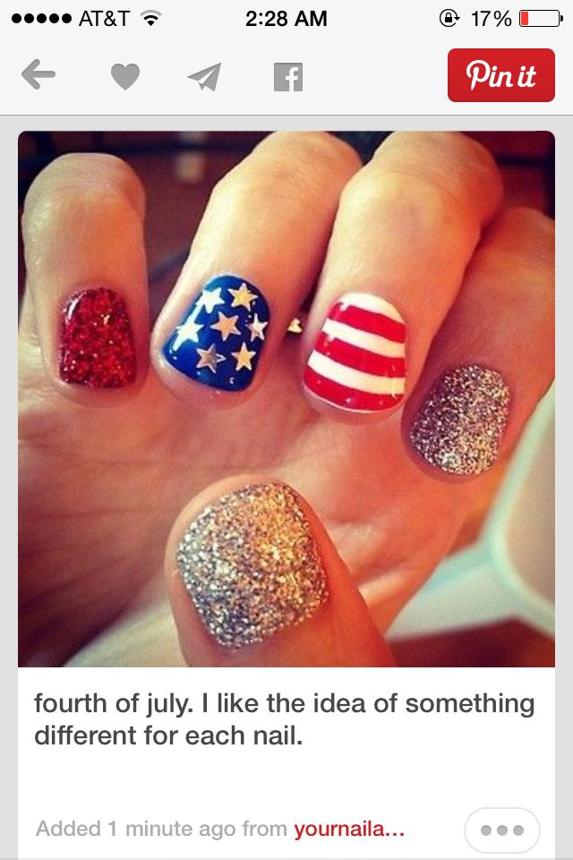 For the fourth   Popular nail designs, Hair and nails ...