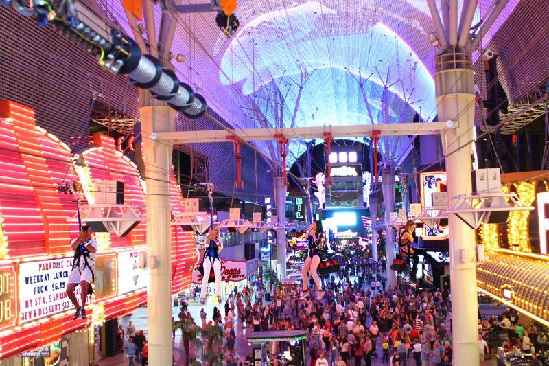 Slotzilla Las Vegas Zip Line Opens At Downtown S Fremont Street Experience Vital Vegas Freemont Street Las Vegas Las Vegas Trip Las Vegas Weekend