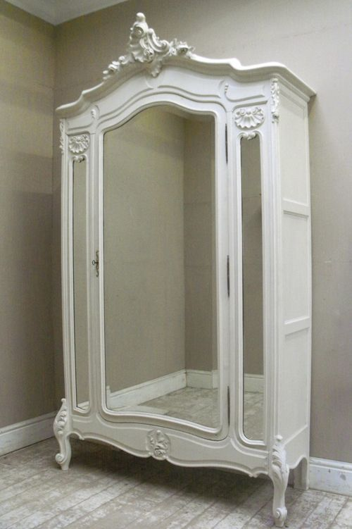 French Antique Rococo Style Armoire. | rocco | Pinterest | Armario ...