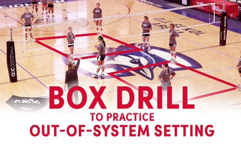 Practicing A Calm Platform Coaching Volleyball Volleyball Drills Volleyball Workouts