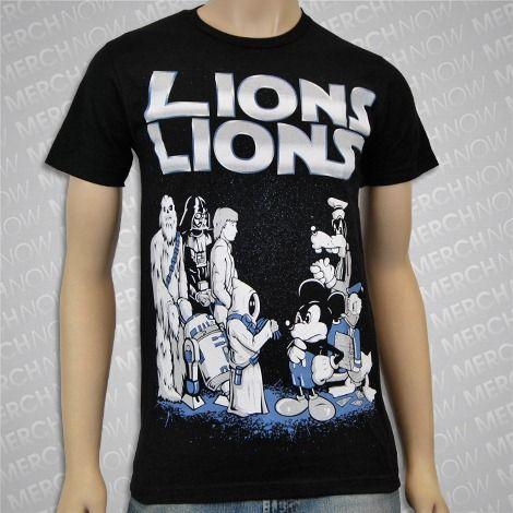 b604c3a7 Lions Lions; Star Wars T-Shirt   Band T-Shirts   Band merch, Shirts ...