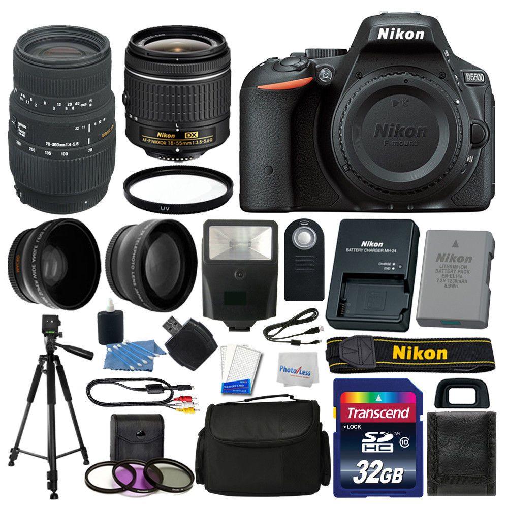 Excellent Nikon Digital Slr Camera Lens Vr Complete Nikon Digital Slr Camera Lens Vr Nikon D5500 Bundle Review Nikon D5500 Bundle B H dpreview Nikon D5500 Bundle