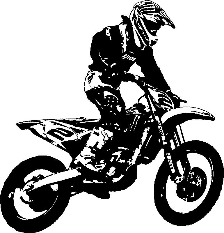 Motor Crosser 01 Png Png Image 770 800 Pixels