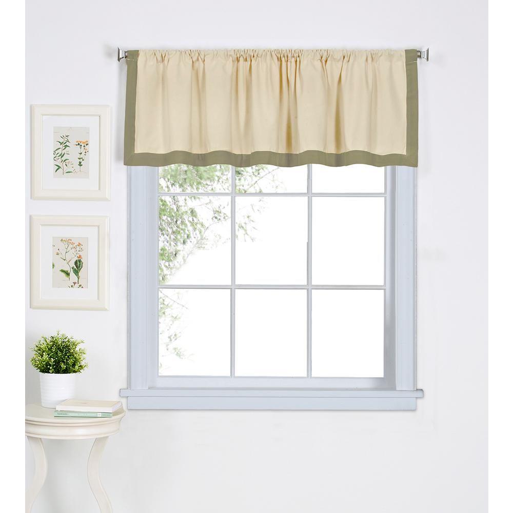 Elrene Wilton 60 In W X 15 In L Cotton Single Window Curtain