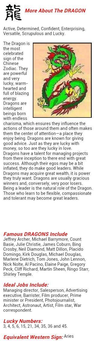 Chinese zodiac dragon | Pagan/shaman | Dragon zodiac