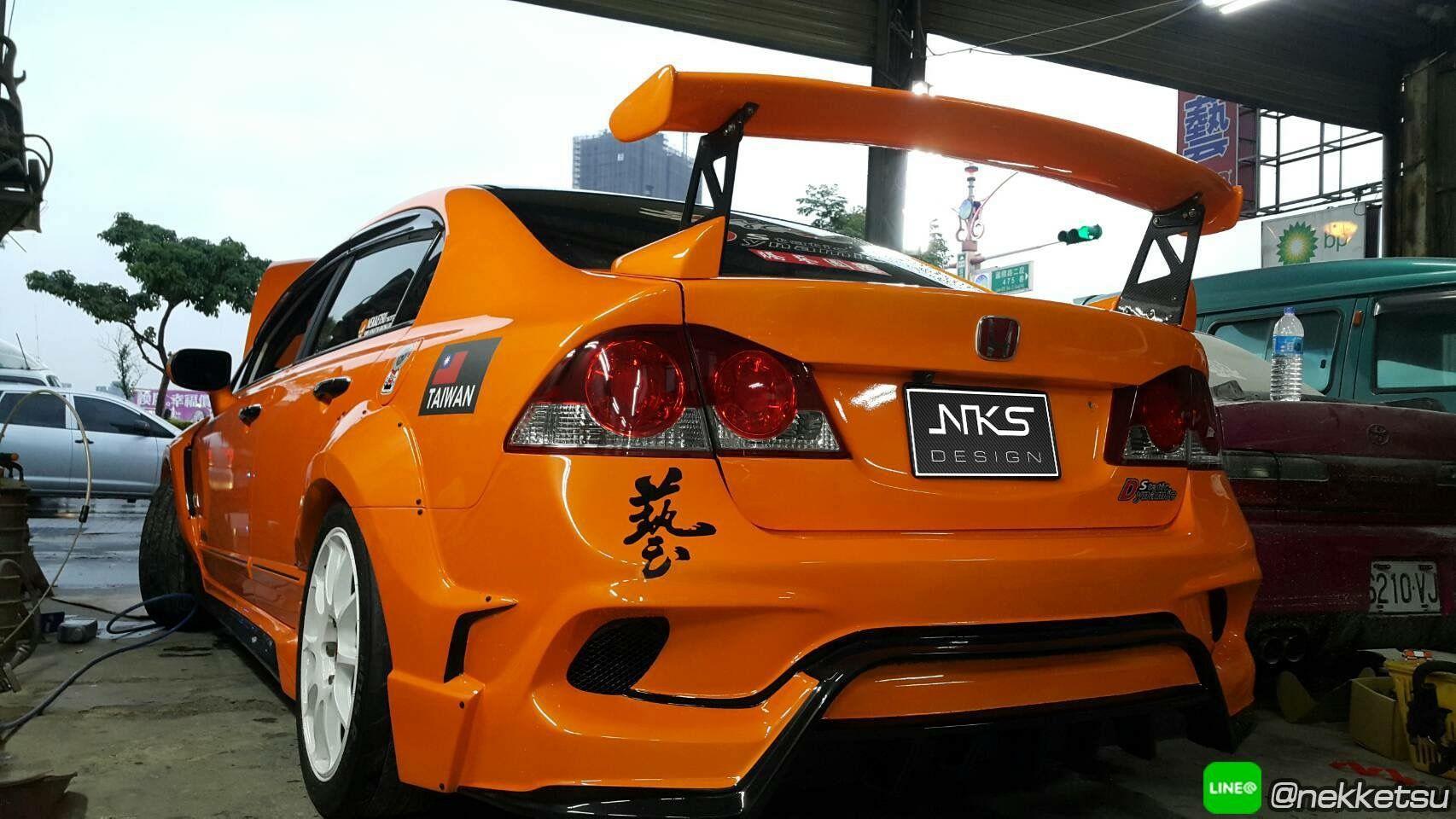 Pin oleh Art Nekketsu di Honda Civic