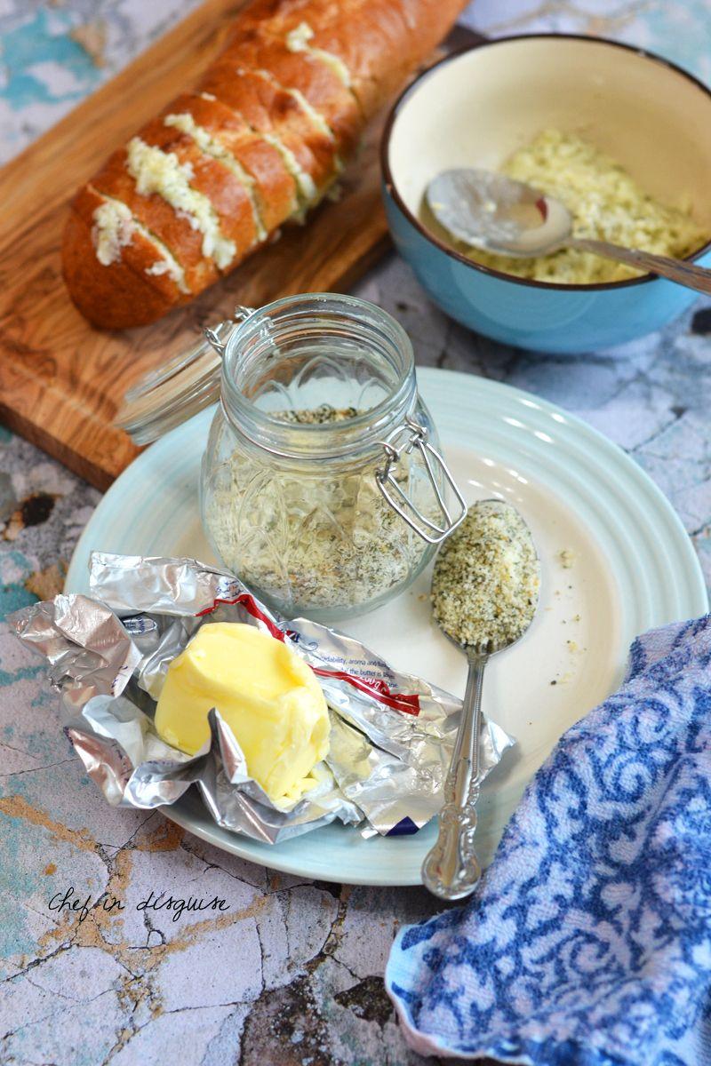 Garlic bread seasoning Homemade seasonings, Food, Food