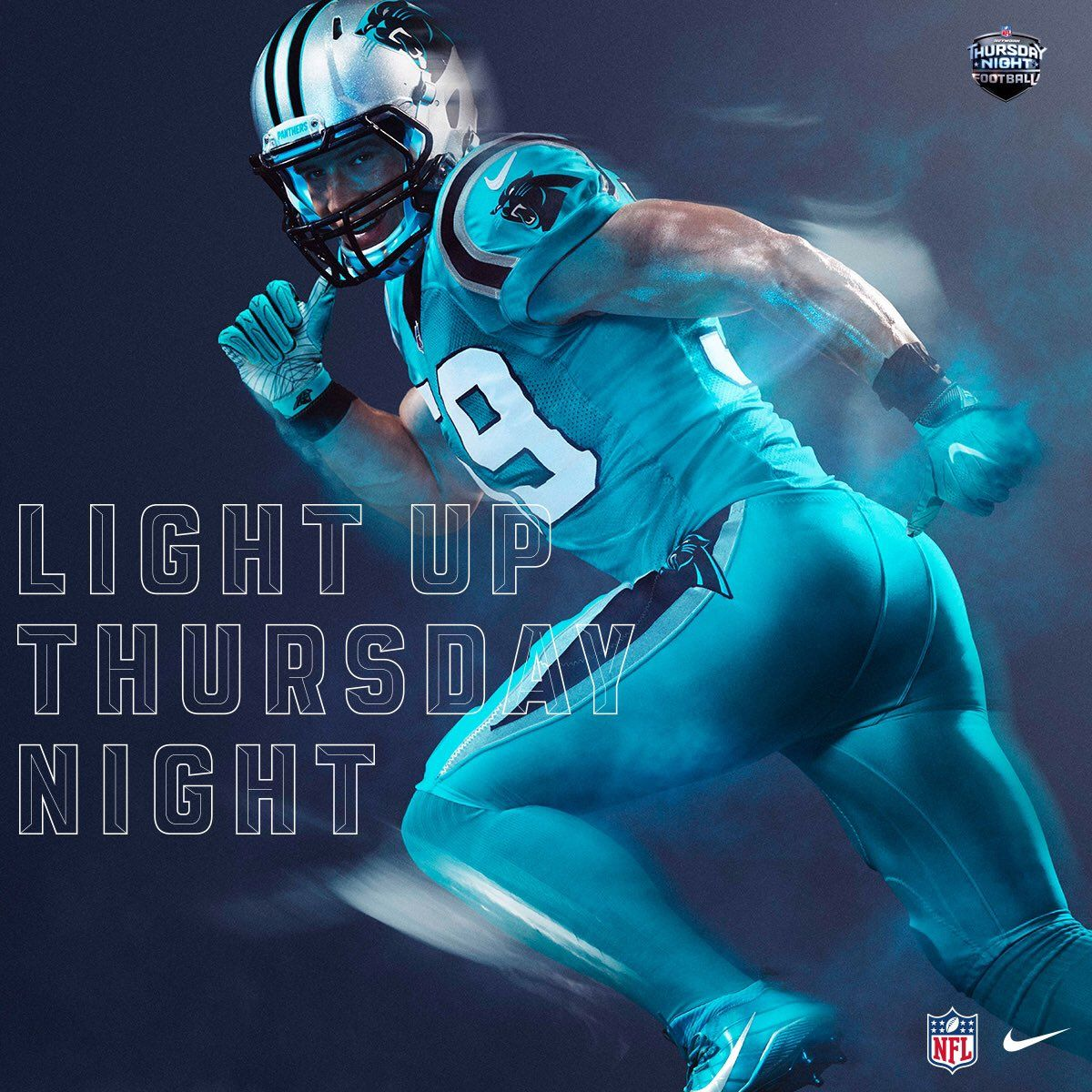 online store a967e 8e111 Power Ranking all 32 NFL Color Rush Uniforms#13. Carolina ...