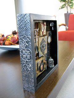 Scraps of my Life: Art Shadow Box
