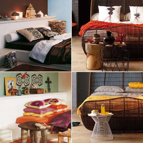 afrocentric style decor design centered on african influenced elements bedrooms - African Bedroom Decorating Ideas