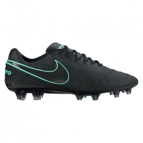 #Nike Tiempo Legend VI FG 819177 Black Black #voetbalschoenen