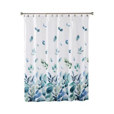 Saturday Knight Ltd Ontario 72 In Green Shower Curtain Green
