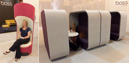 Sofas With A Roof And Star Trek Seating: The Future Of Office Furniture?