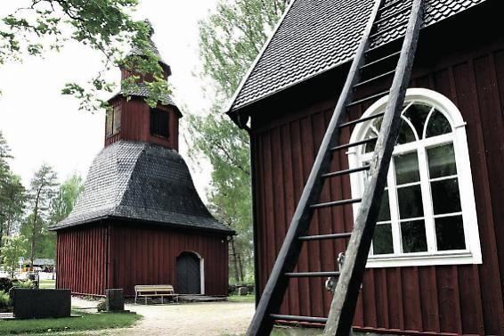Sammatti church bell tower, Lohja. Kuva: Piia Arnould
