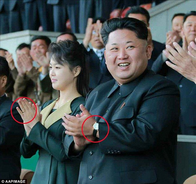 Kim Jong Un S Wife Is Spotted Eight Months After Disappearing Daily Mail634 595search By Image Ri Sol Ju Here Is Seen Wea North Korea Korea Kim Yo Jong