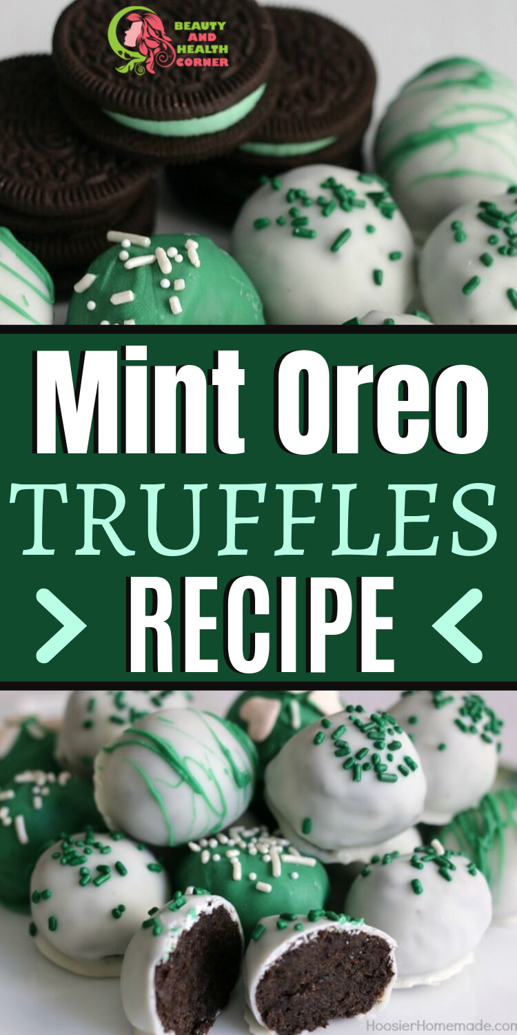Mint Oreo Truffles – You Can Do No Wrong With Oreo!